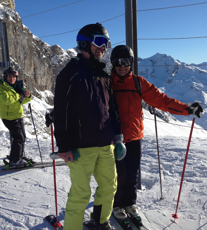 Januar 2017 Alpinski Lech Zuers